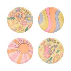 Psychedelic 60s Side Plates from Meri Meri :: Baby Bottega