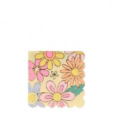 Psychedelic 60s Small Napkins from Meri Meri :: Baby Bottega