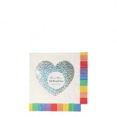 Rainbow Fringe Small Napkins from Meri Meri :: Baby Bottega