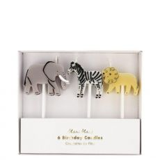 Safari Animal Candles from Meri Meri :: Baby Bottega