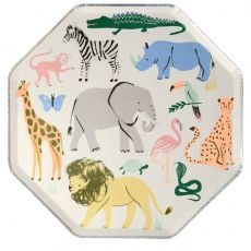Safari Animals Dinner Plates from Meri Meri :: Baby Bottega