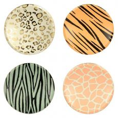 Safari Animal Print Dinner Plates from Meri Meri :: Baby Bottega