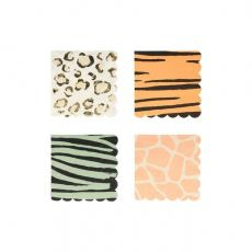 Safari Animal Print Tovagliolini di Meri Meri :: Baby Bottega
