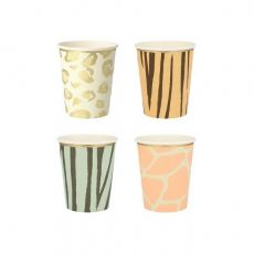 Safari Animal Print Party Cups from Meri Meri :: Baby Bottega