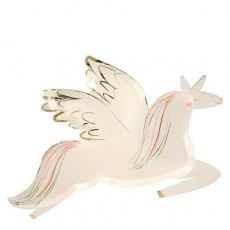 Winged Unicorn Plates from Meri Meri :: Baby Bottega