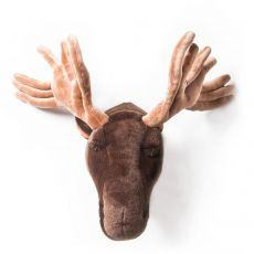 Alfred Moose Head, a wall trophy from Wild & Soft :: Available at Baby Bottega