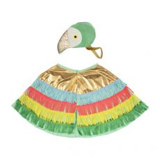 Parrot Fringed Cape Dress Up from Meri Meri :: Available at Baby Bottega