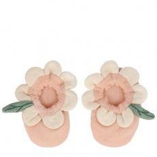 Scarpette Neonati Peach Daisy di Meri Meri :: acquista ora su Baby Bottega