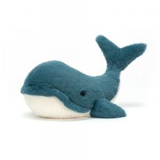 Wally Whale, medium, is a soft toy from Jellycat :: Baby Bottega