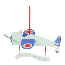 Aeroplane Baby Card from Meri Meri :: Baby Bottega