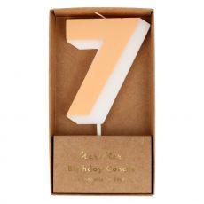Candela Numero 7 di Meri Meri :: acquista ora su Baby Bottega