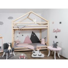 CLOUDY, a Montessori styled wooden bunk bed from Benlemi
