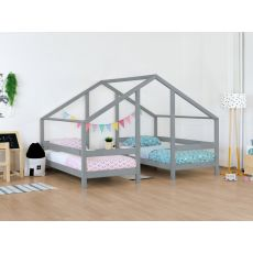 VILLY, a Montessori styled bed for two from Benlemi :: Available at Baby Bottega
