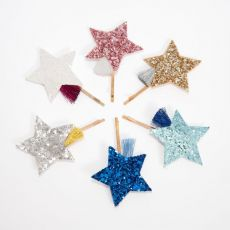 Shooting Star Hair Slides from Meri Meri :: Baby Bottega