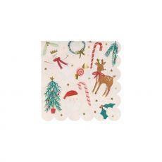 Festive Motif Small Napkins from Meri Meri :: Baby Bottega