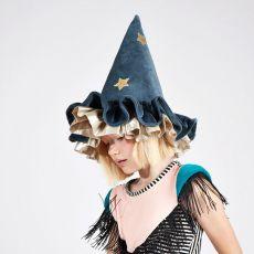 Pointed Blue Hat from Meri Meri :: Baby Bottega