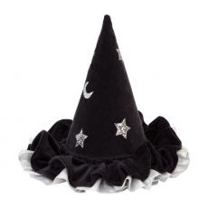 Pointed Black Hat from Meri Meri :: Baby Bottega