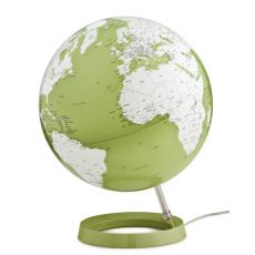 World Globe Pistacchio Green Table Lamp
