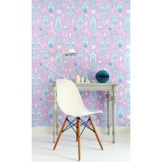 Palace Garden Wallpaper Lavender