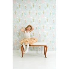 Cherry Valley Wallpaper Grey