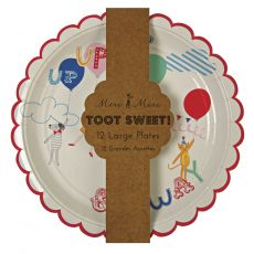 Toot Sweet Children Plates