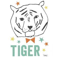 Sticker da Muro Tigre