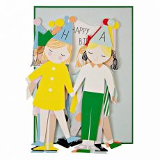 Concertina Children Birthday Card