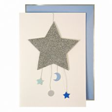 Baby Boy Mobile Greeting Card from Meri Meri :: Baby Bottega