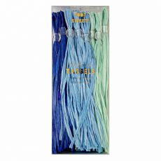 Blue Party Tassels