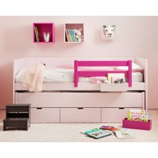 Nido Single Bed with Trundle Bed