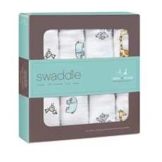 Jungle Jam Swaddle 4 Pack