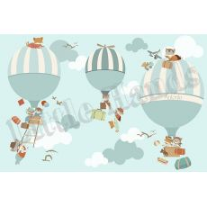 Hot Air Balloons Wallpaper Mural