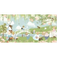 Flower Garden Wallpaper Mural