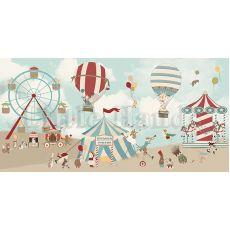Hudson Circus Wallpaper Mural