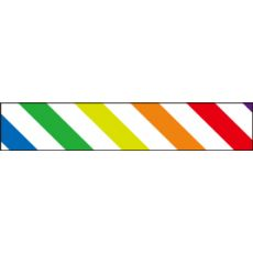 Nastro Adesivo Decorativo Colourful Stripe