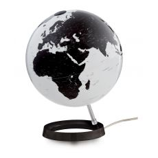 World Globe Bright White Table Lamp