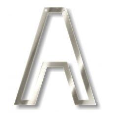 Silver A Acrylic Bunting from Meri Meri :: Baby Bottega