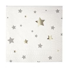 Silver Star Small Napkins