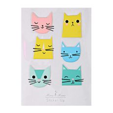 Cat Stickers from Meri Meri  :: Baby Bottega