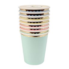 Toot Sweet Pastel Cups from Meri Meri :: Baby Bottega