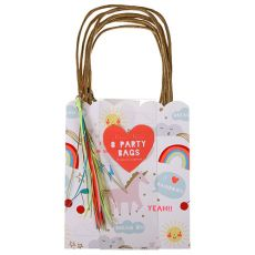 Rainbow & Unicorn Party Bags from the Meri Meri Collection