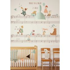 Minuet in G Major Mural Wallpaper