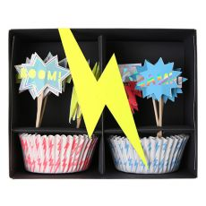Set per Cupcakes Superhero