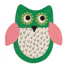 Tappeto Little Owl Emerald