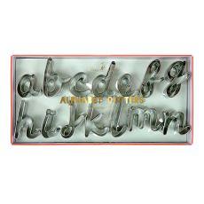 Formine per Biscotti Alfabeto