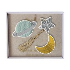Space Brooches from Meri Meri :: Baby Bottega