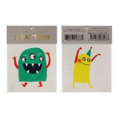 Monster Temporary Tattoos :: Meri Meri