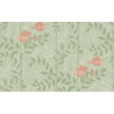 Nautilus Wallpaper Soft Olive