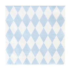 Blue Diamonds Napkins