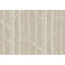 Woods & Stars Wallpaper Taupe/Gold